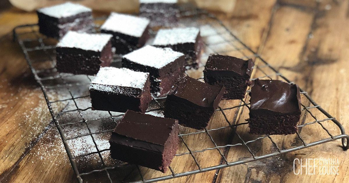 Healthy Chocolate Brownie Recipe With Beetroot And Sweet Potato